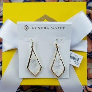 Kendra Scott Rock Crystal Olivia earrings